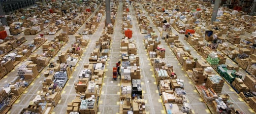 Amazon Shipping Warehouse