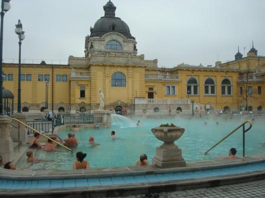 Turkish Baths at Budapest