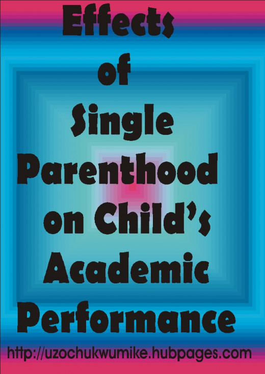 effects of single parenthood on child's academic performance