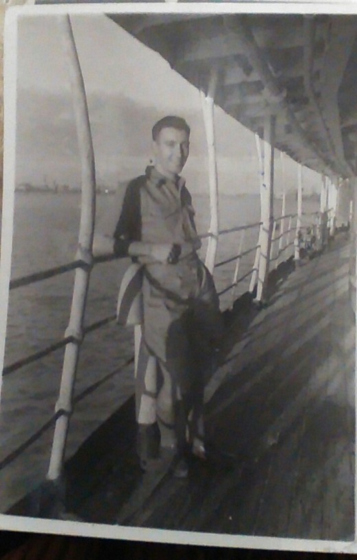 Archibald, Engineering Officer aboard Brown Ranger