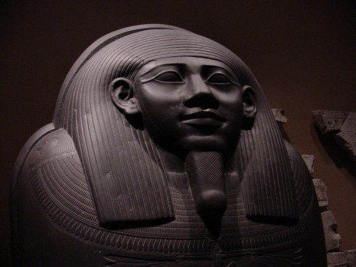 Sarcophagus of Harkhebit at the Metropolitan Museum in NYC