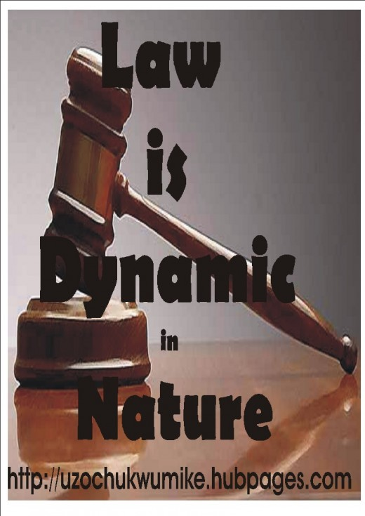 Dynamism as one of the principal features of Law