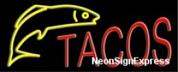 Tacos Neon Sign