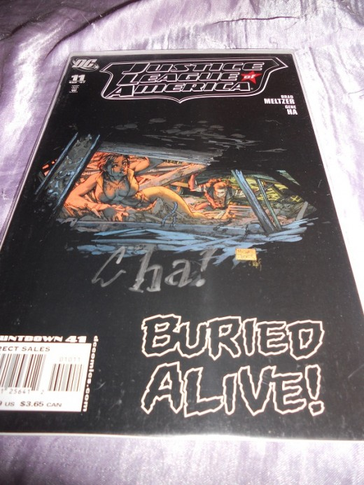 Justice League of America #11 signed by Gene Ha