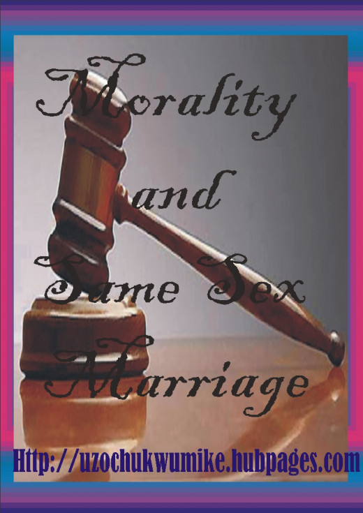 Law and same sex marriage