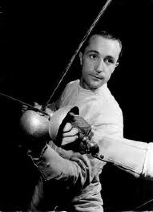 Edoardo Mangiarotti, the Italian fencer.