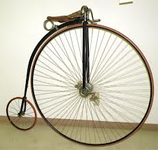 Doing a stand-up routine in a bicycle museum can really help your career