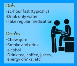 Your doctor may advise any or all of the advice on this list.
