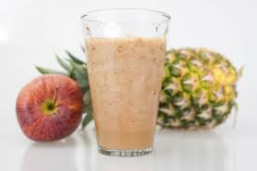 Pineapple and Apple Juices