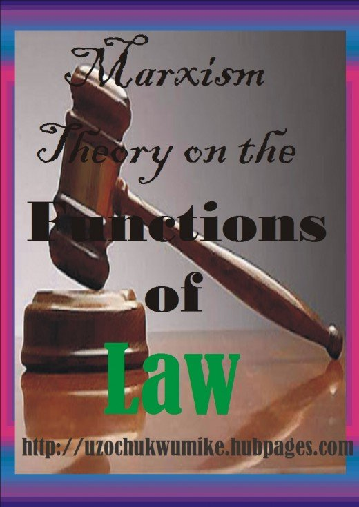 Marxism Law theory. This is the theory proposed by a famous scholar called Max.