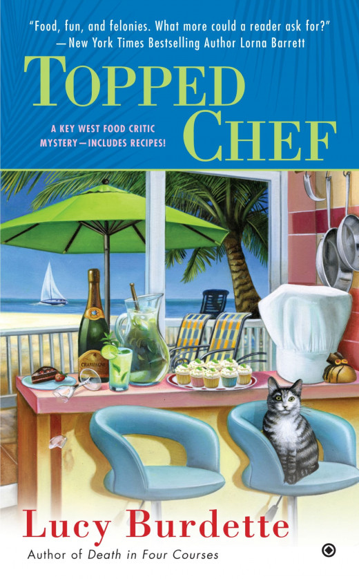 Topped Chef is neither good nor bad in the third installment of the Key West Food Critic Mysteries
