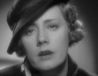 """Great screenshot from her wonderful performance in the movie version of the Sinclair Lewis classic """"Ann Vickers."""""""