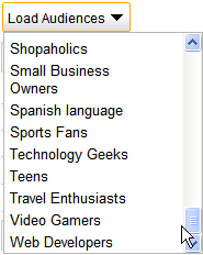 Audience Category Filter - How the heck did Google come up with that.