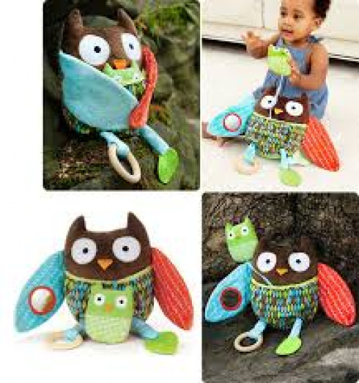 Hide and hug owl activity