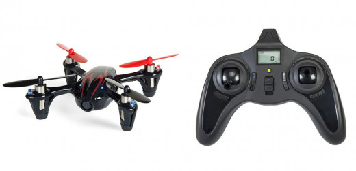 Hubsan Drone and Controller