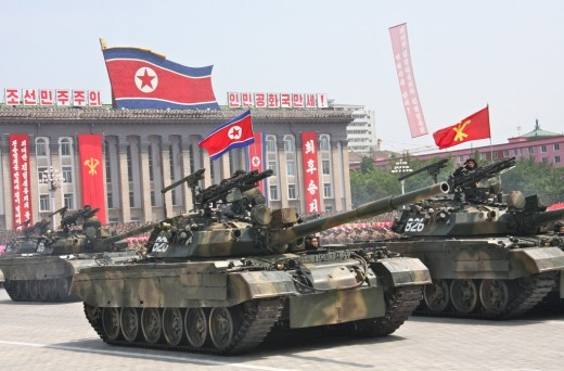 Pokpung-ho, North Korea's best tank.