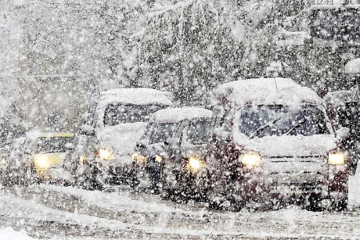 If a snowstorm is too treacherous to drive in, don't hesitate to call off work.