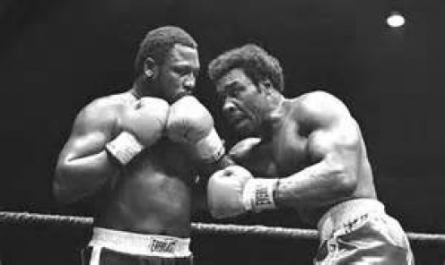 Joe Frazier and Floyd Cummings fought to a draw in their heavyweight match. Cummings was as tough as nails and even in defeat he kept trying.