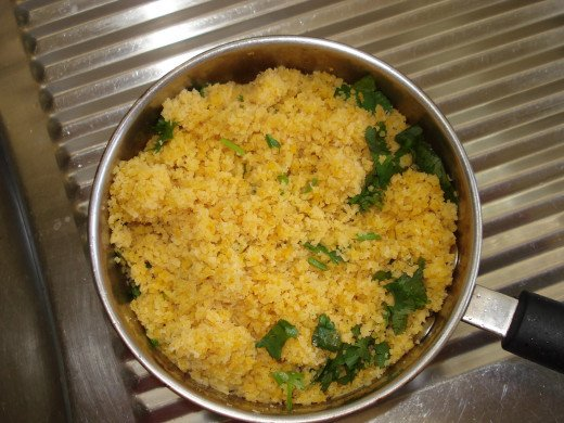 The Couscous With Coriander