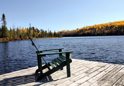Minnesota cabin on the lake