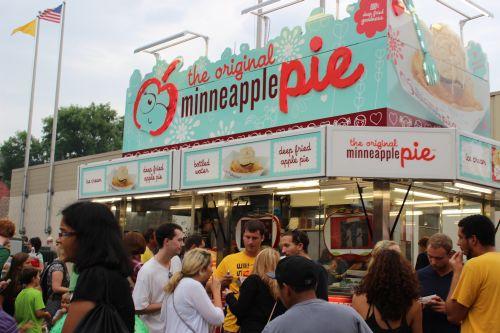 Minneapple pie at the State Fair