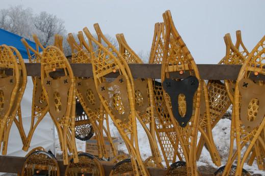 Snowshoe in Minnesota