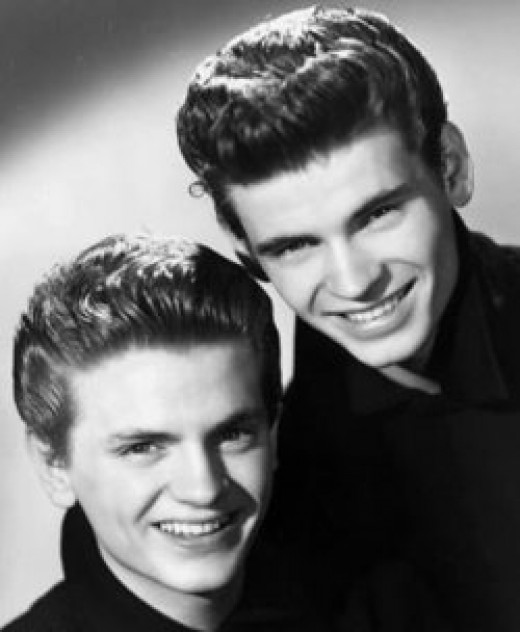 The Everly Brothers, ca. 1958