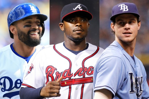Its a whole new look in the Padres outfield for 2015.