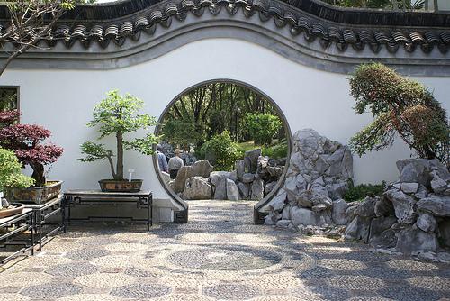 beautiful moon gate