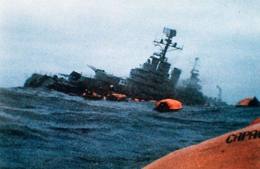 The Sinking of the Belgrano was a key part of the Conflict but it's legality has been questioned.