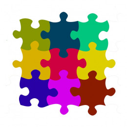 Puzzles are easy to find anywhere from a dollar store, to a dedicated toy store such as Toys R' Us.