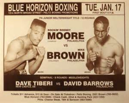 Rodney Moore fought against anyone and often in their backyards. He was a raked Jr. Welterweight on his best days.