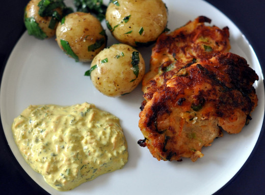 Fish cakes can be grilled and barbecued as well as shallow fried. See the great recipes in this article