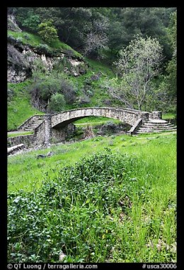 Stone Bridge in Alum Rock Park