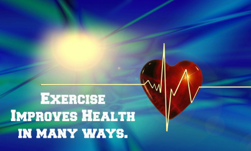 Physical activity improves many aspects of health.