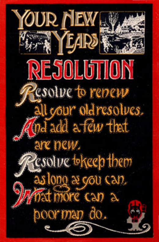 New Year's resolutions have been around for centuries