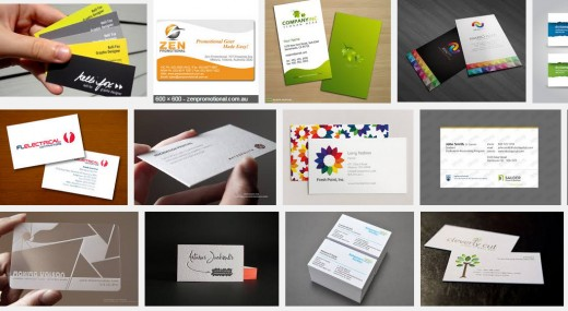 Business Cards - good, bad, readable, poorly-readable...