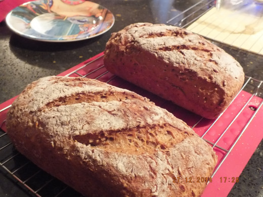 There is just nothing more satisfying for the home chef to prepare than a nutritious and delicious bread!
