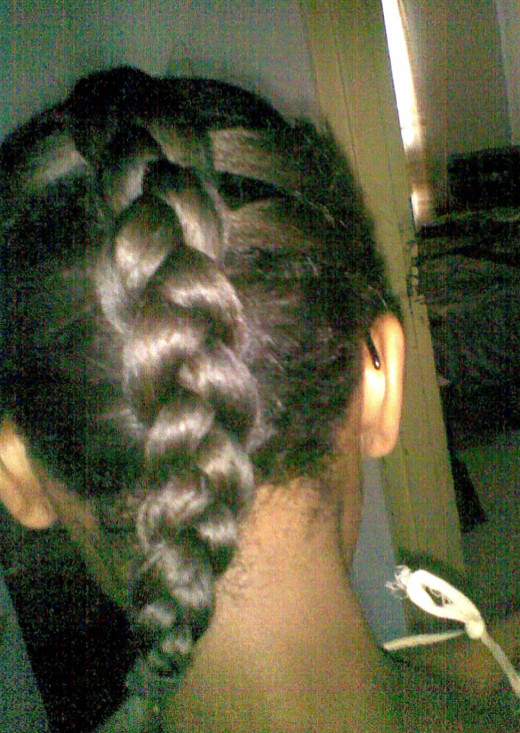 Protective style braid.
