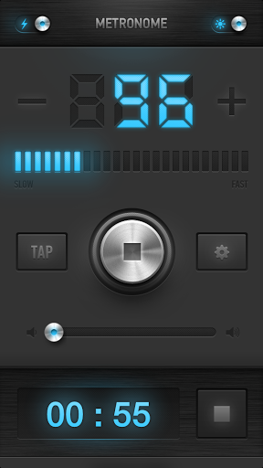 Combining a metronome with a basic timer is a simple, yet incredibly effective, idea.