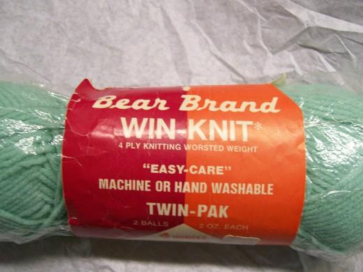 Bear Brand yarn (twin pak)