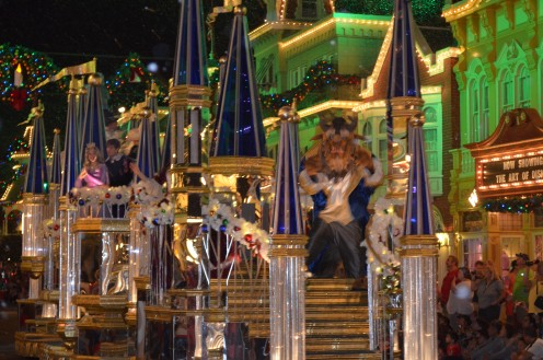 "Short lines at attractions and manageable crowds is what you enjoy when you purchase a ticket to ""Mickey's Very Merry Christmas Party"" at Walt Disney World's The Magic Kingdom."