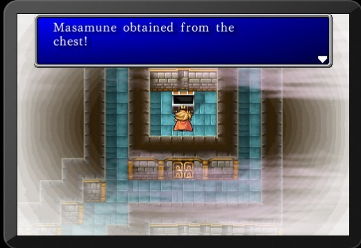 Screencap from the iOS remaster of the original Final Fantasy game.