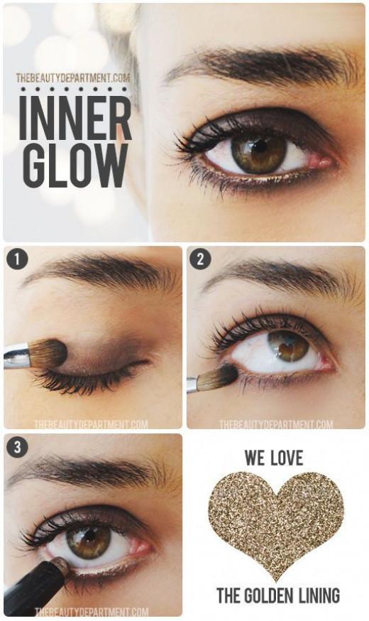 A simple brown smokey eye