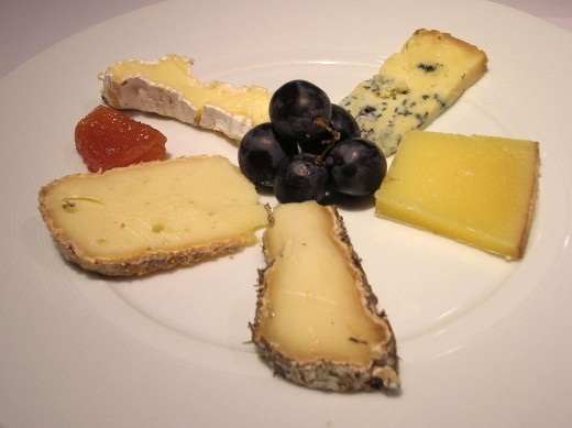 Choose unusual and attractive cheese for your cheese platter, rather than the boring common types
