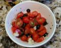 Easy Tuna Salad | Tomato and Olive Salad | Tuna Salad Hors d'oeuvres