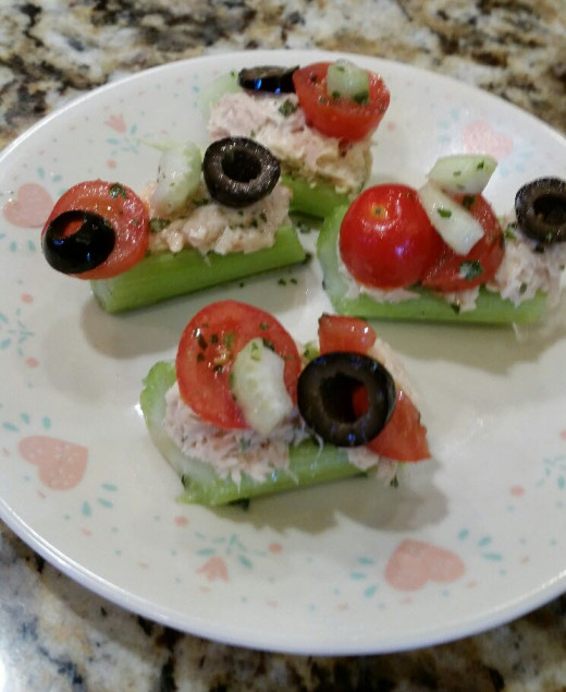 Tuna Salad Hors d'oeuvres