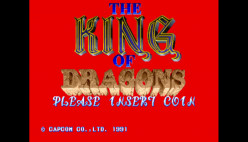 Capcom's the King of Dragons Brings the Fire With Classic Beat 'Em up Fantasy Action