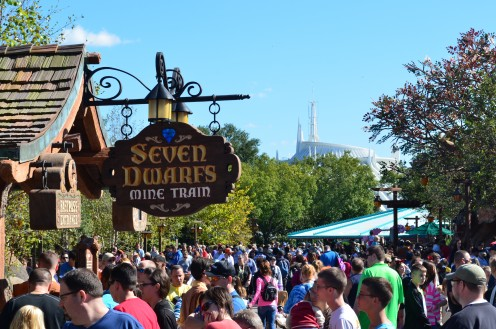 "Get a FastPass for the new ""Seven Dwarfs Mine Train,"" it's the hottest attraction at The Magic Kingdom at Walt Disney World."