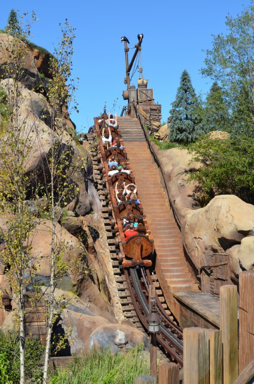 During Thanksgiving Week at The Magic Kingdom at Walt Disney World, guests without FastPasses waited more than 180 minutes to board the park's hottest attraction: The Seven Dwarves Mine Train.
